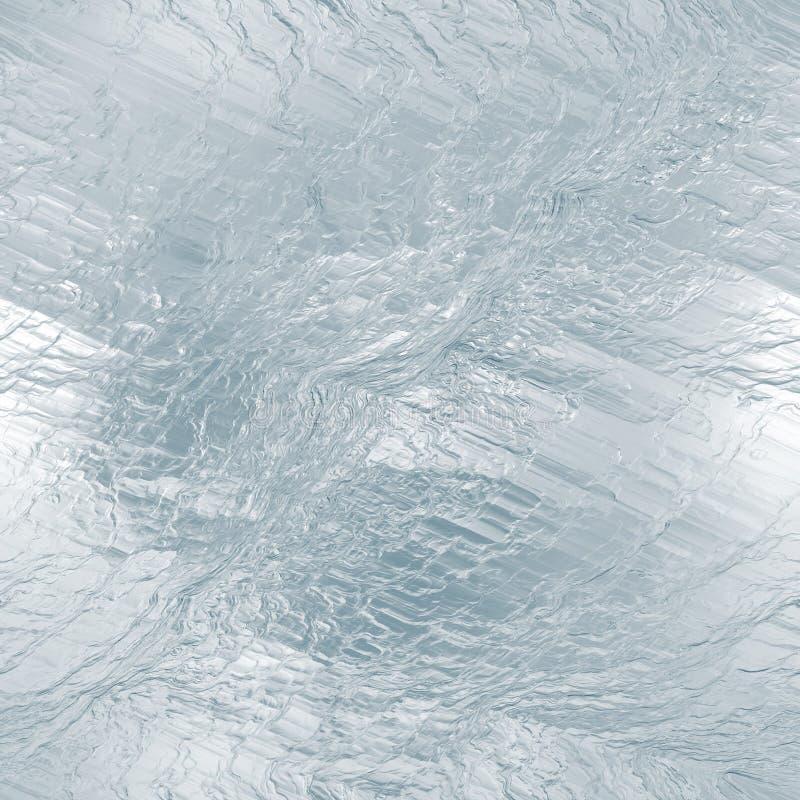 Textura tileable sem emenda do gelo Água congelada imagem de stock