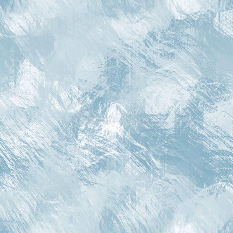 Textura tileable sem emenda do gelo Água congelada fotos de stock royalty free