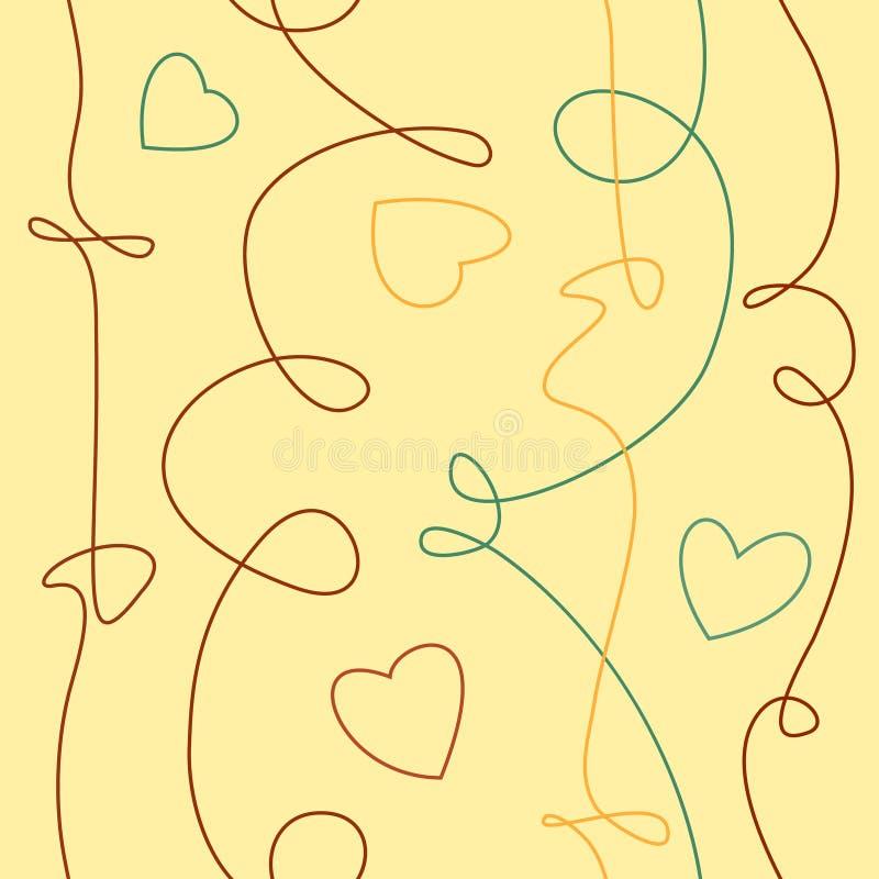 Textura tirada do garrancho da tinta do vetor mão iseamless ilustração do vetor