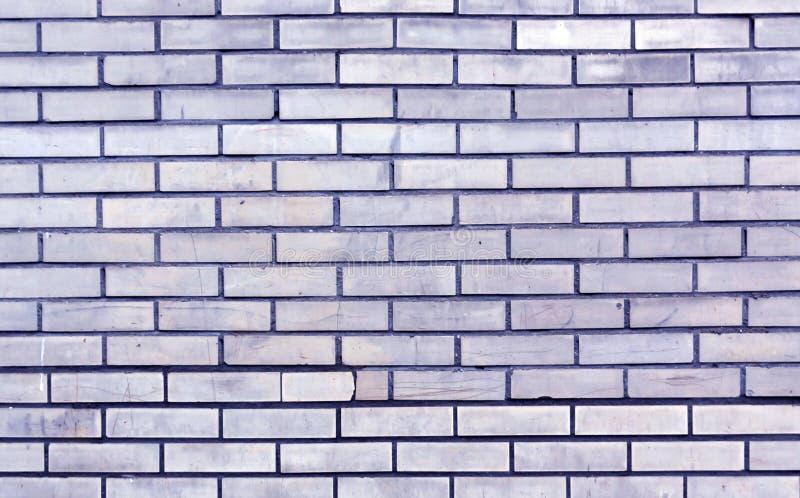 Textura tonificada azul da parede de tijolo fotos de stock
