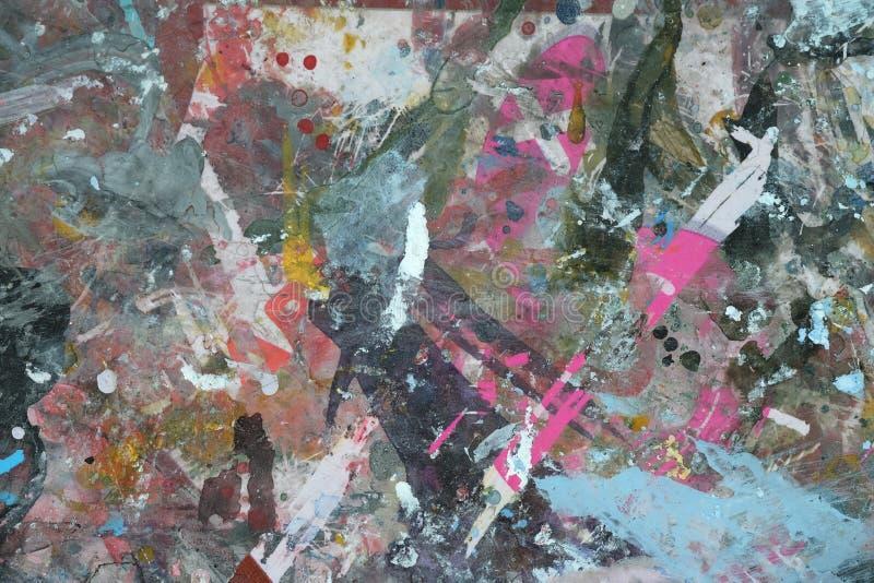 Textura, traço; ; pintura; sumário; cor; fundo; expressivo; ; composição foto de stock