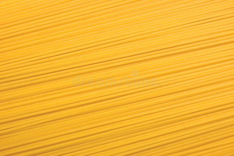 Textura tradicional do fundo do close up da massa dos espaguetes, grande macro horizontal detalhado fotos de stock royalty free