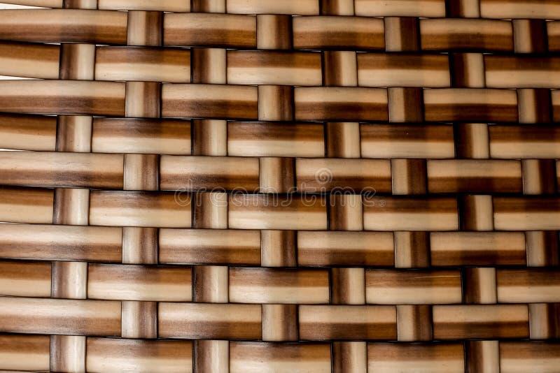 textura trenzada de la paja foto de archivo