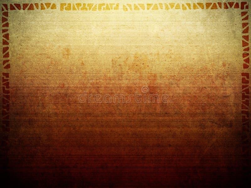 Textura tribal del fondo libre illustration