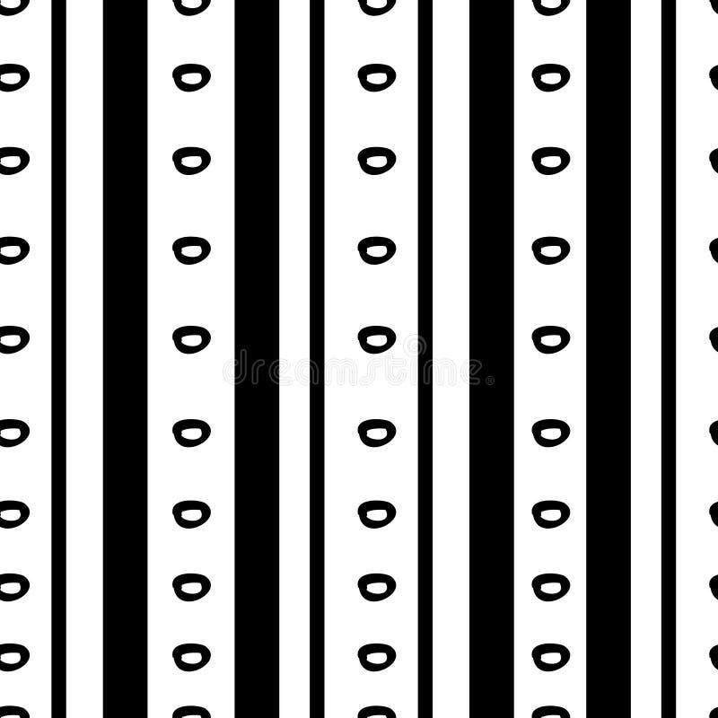 Textura tribal do teste padr?o com o africano tirado m?o, asteca, ilustra??o de tiragem criativa do vetor do maya Testes padrões  ilustração stock