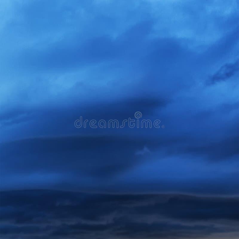 Textura, un fond avec un idéal orageux de ciel pour l'information de temps photos libres de droits