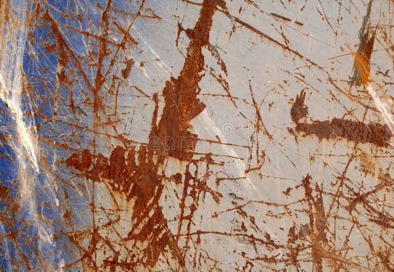 Textura urbana da oxidação imagem de stock royalty free