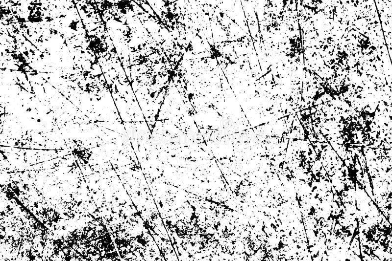 Textura urbana do grunge áspero Superfície empoeirada contaminada com o ruído, a grão e os riscos ilustração do vetor
