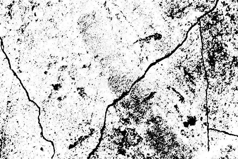 Textura urbana do muro de cimento do Grunge com quebra e ruído Vetor eps10 ilustração royalty free
