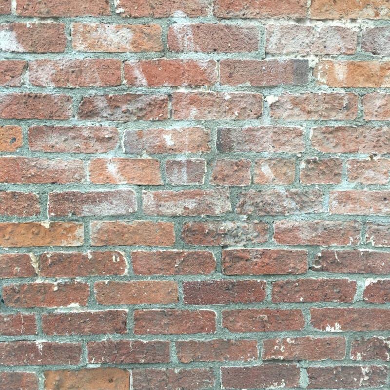 Textura urbana suja da parede de tijolo fotografia de stock royalty free