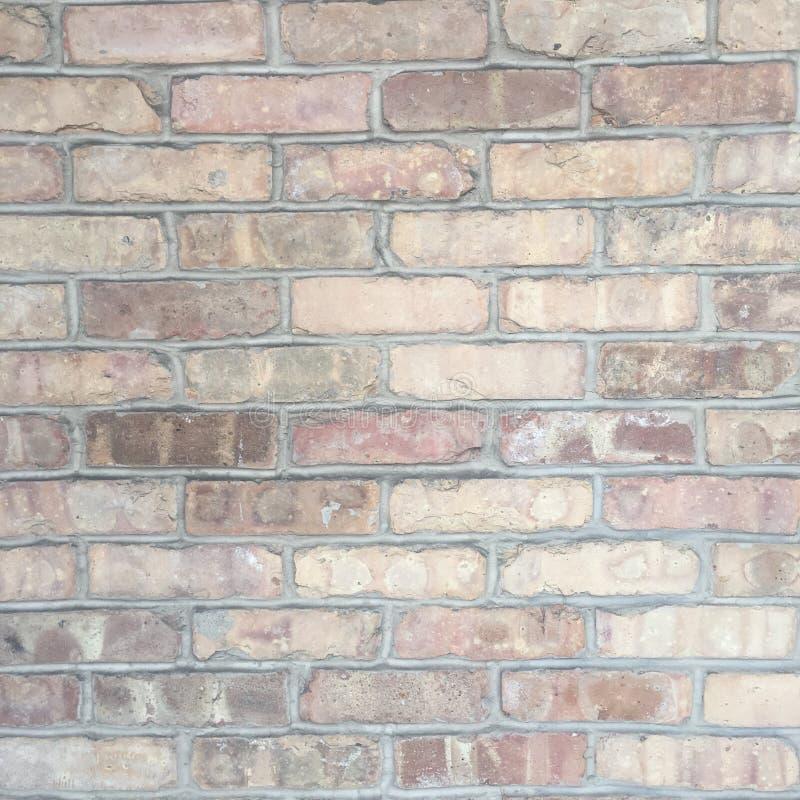 Textura urbana suja da parede de tijolo imagens de stock