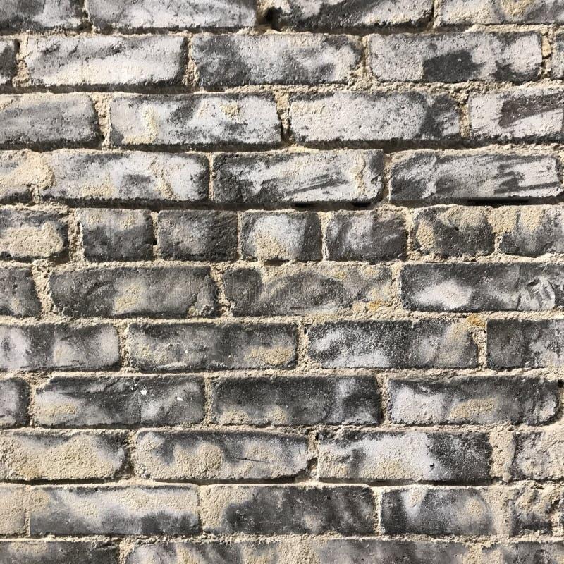Textura urbana suja da parede de tijolo fotos de stock