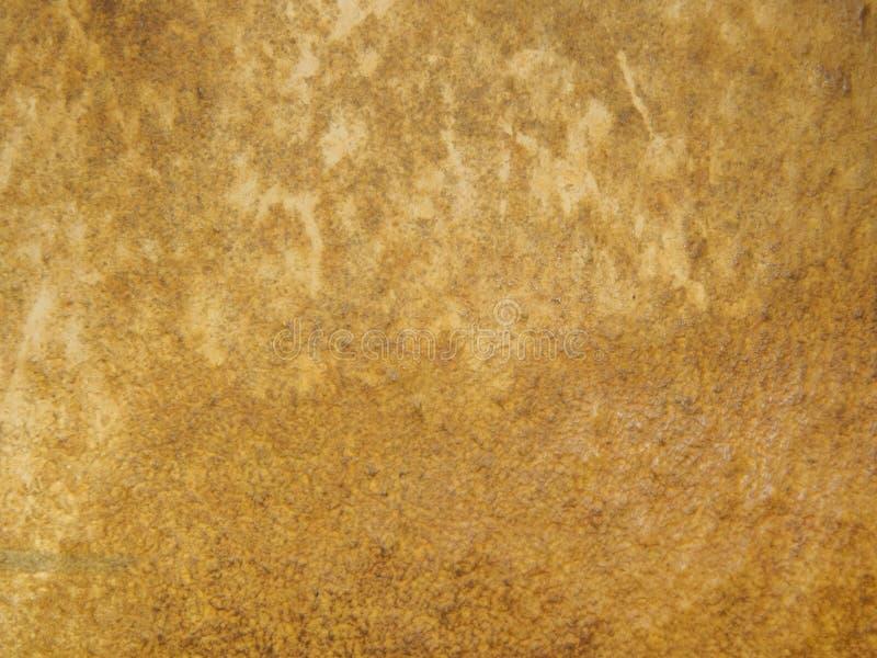 Textura usado de un papel viejo Primer superficial de papel viejo La vista del top, fotografía macra coloreó textura de imagen de archivo