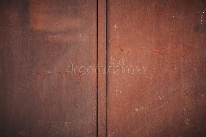 Textura velha da oxida??o do ferro do metal fotografia de stock royalty free