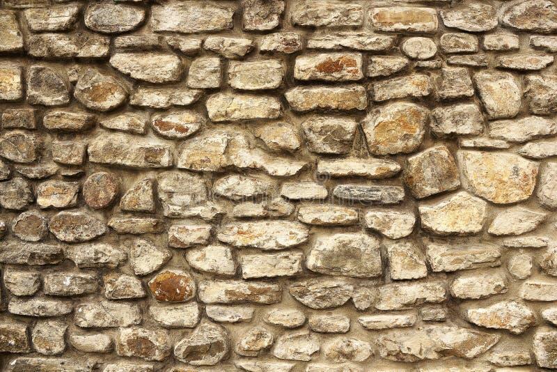 Textura velha da parede de pedra fotografia de stock