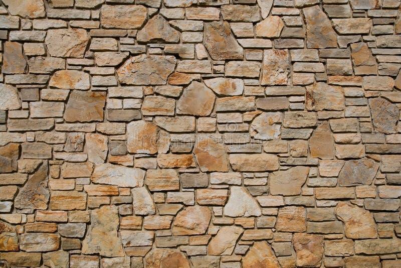 Textura velha da parede de pedra foto de stock