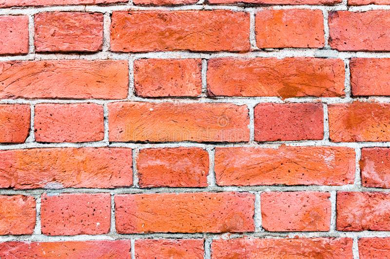 Textura velha da parede de tijolo do vintage, grande projeto para algumas finalidades fotos de stock royalty free