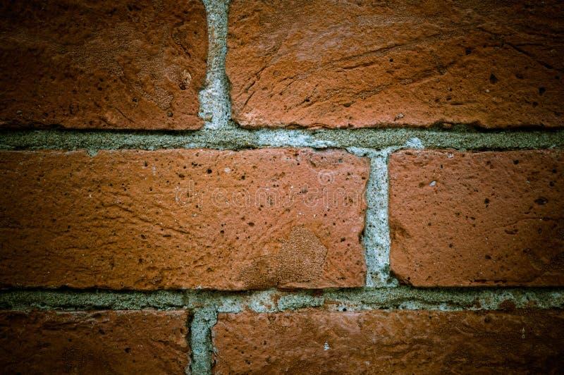 Textura velha da parede de tijolo do vintage, grande projeto para algumas finalidades imagens de stock