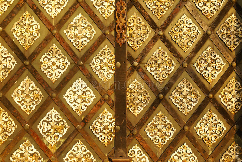 Textura velha da porta imagem de stock royalty free