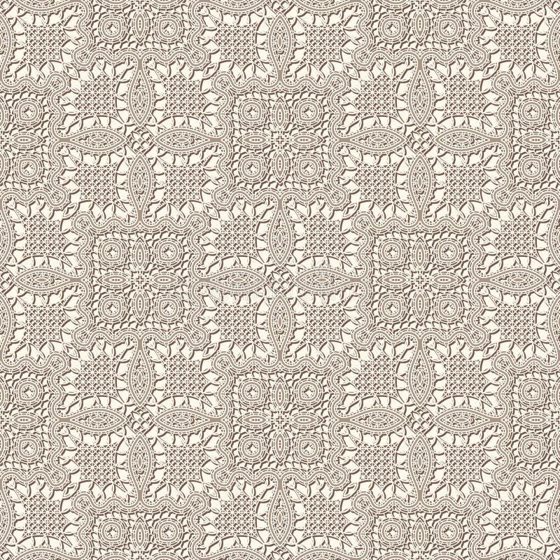 Textura velha do laço ilustração royalty free