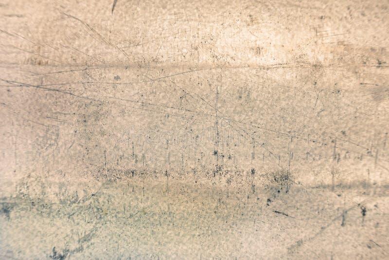 Textura velha do metal com bordas protegidas fotografia de stock