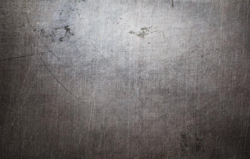 Textura velha do metal do grunge imagens de stock royalty free