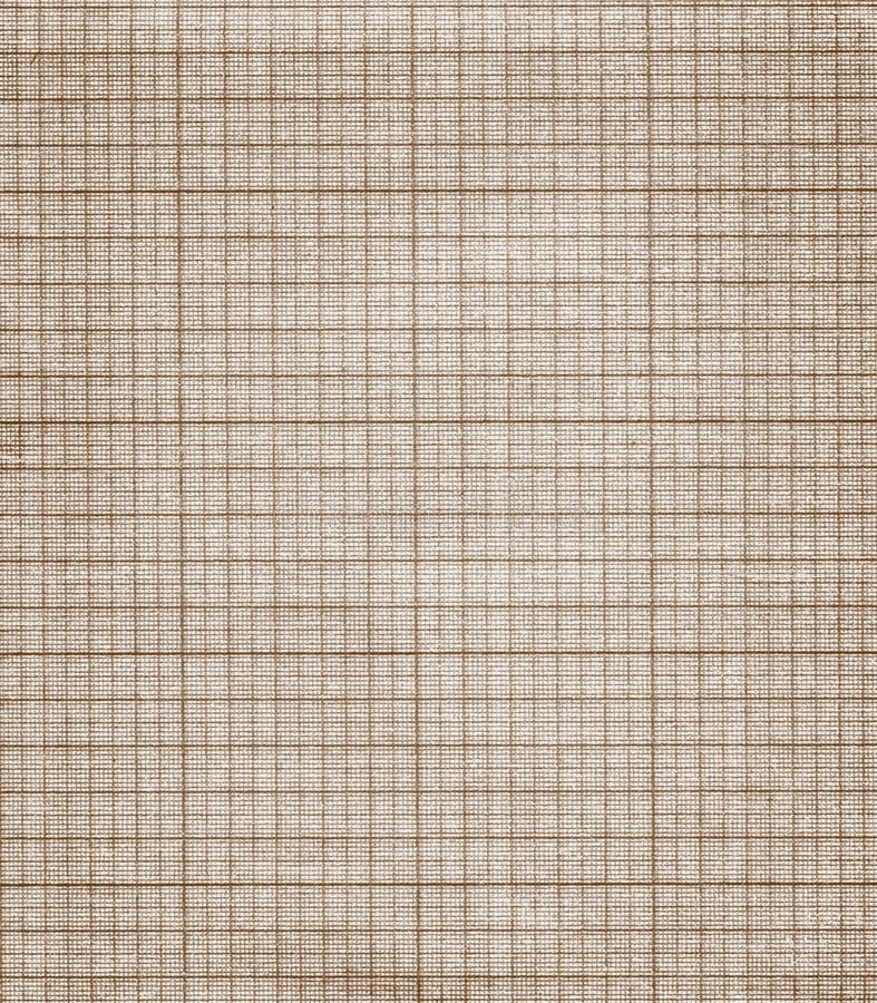 Textura velha do papel de gráfico fotografia de stock royalty free