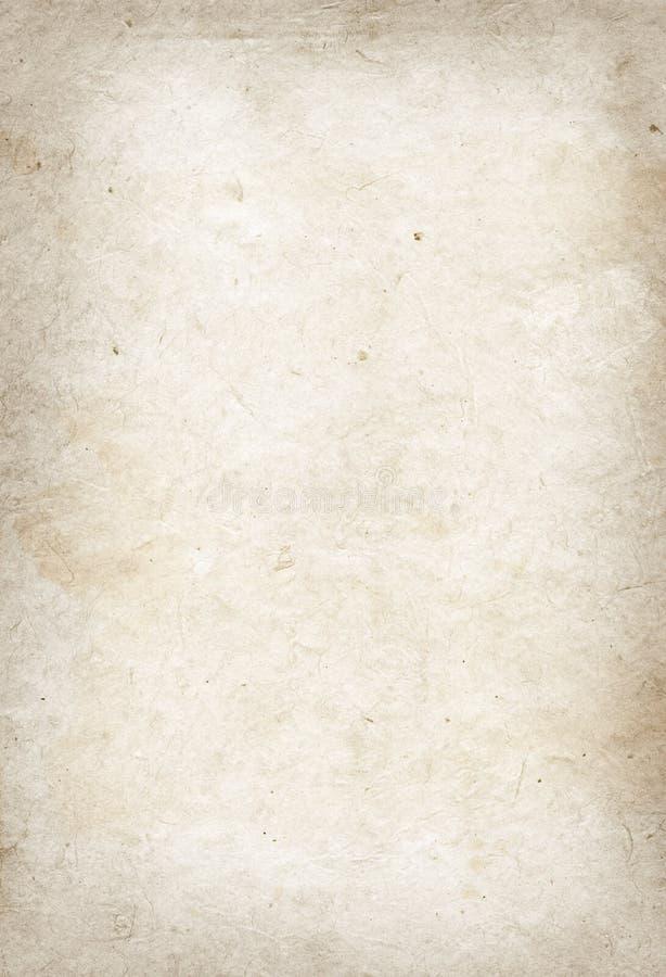 Textura velha do papel de pergaminho fotos de stock