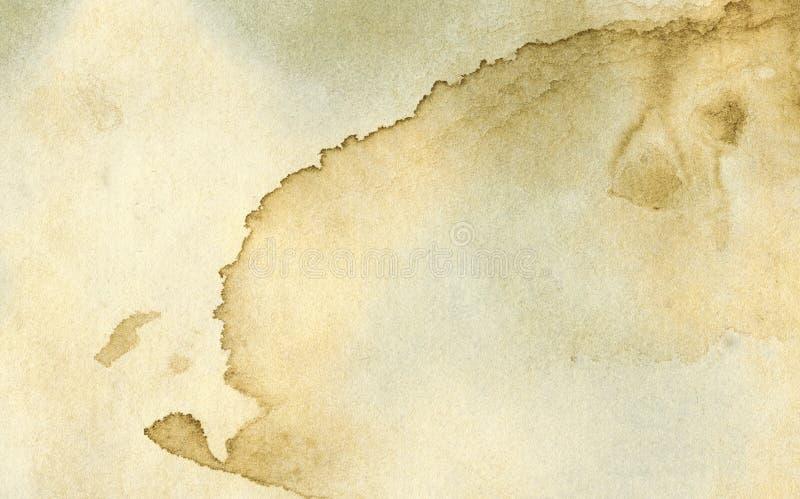 Textura velha do papel do grunge fotografia de stock royalty free