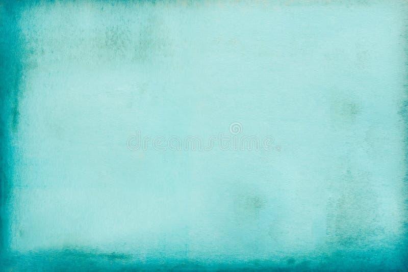 Textura velha do papel verde fotografia de stock
