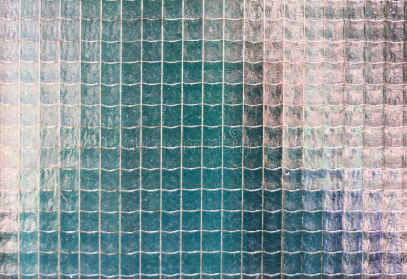 Textura velha do vidro prendido imagem de stock