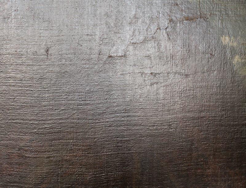 Textura velha real da lona de pintura da arte fotos de stock royalty free