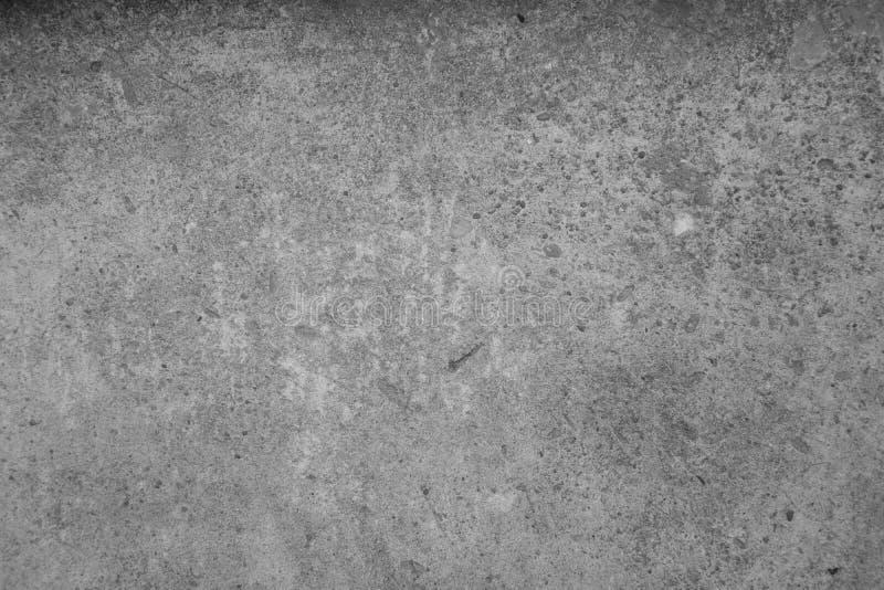Textura velha suja branca do cimento do assoalho concreto foto de stock royalty free