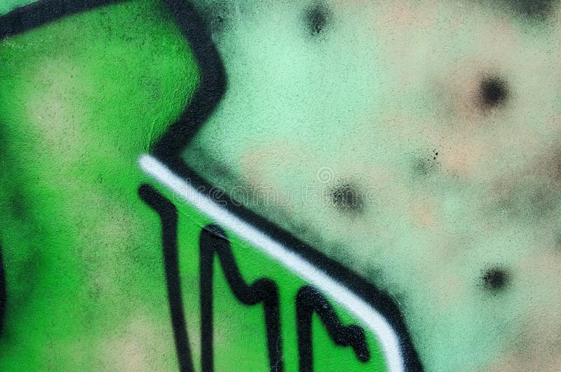 Textura verde de la pared stock de ilustración