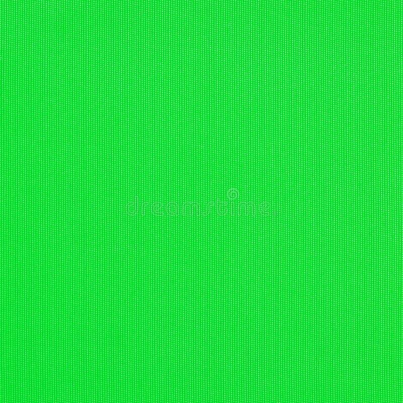 Textura verde de la tela foto de archivo