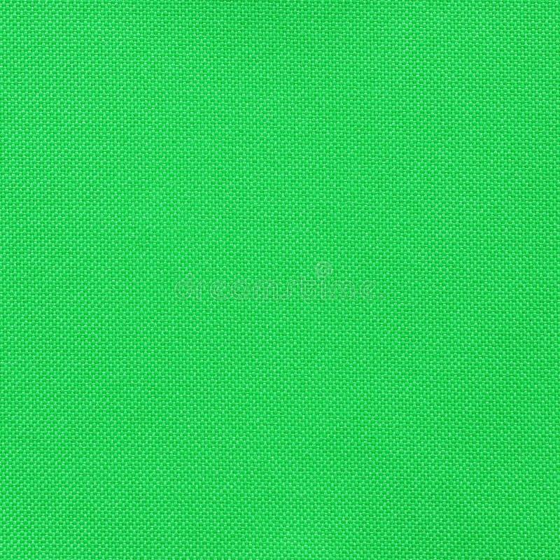 Textura verde de la tela imágenes de archivo libres de regalías