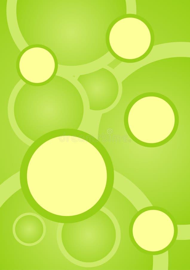 Textura verde do PNF ilustração royalty free