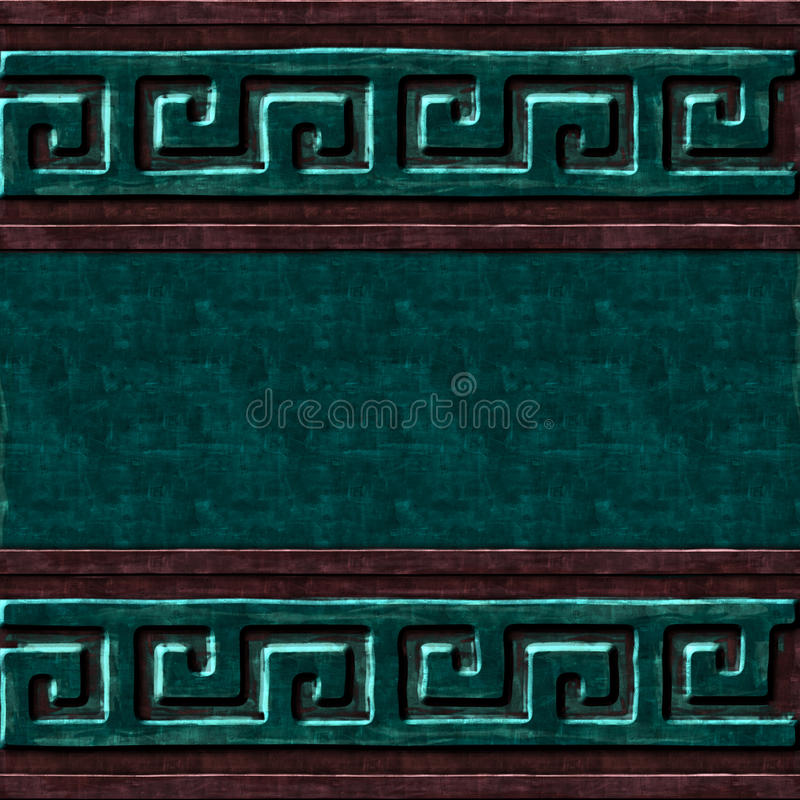 Textura verde do símbolo da caixa imagens de stock