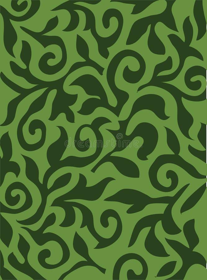 Textura verde do vetor ilustração do vetor