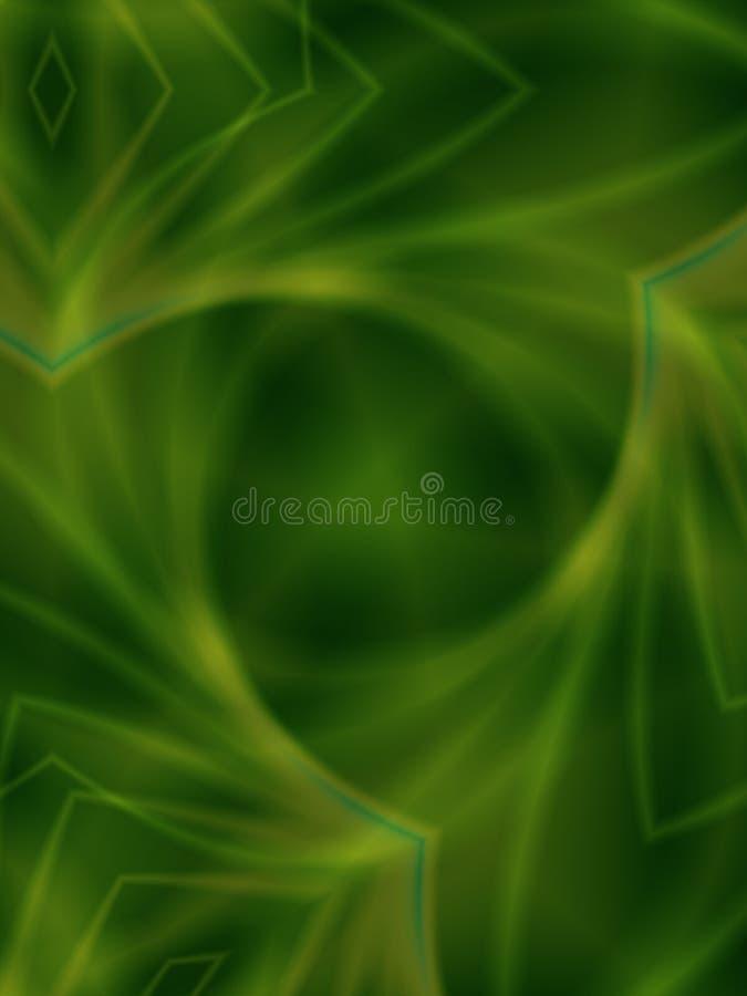 Textura verde que remolina suave stock de ilustración
