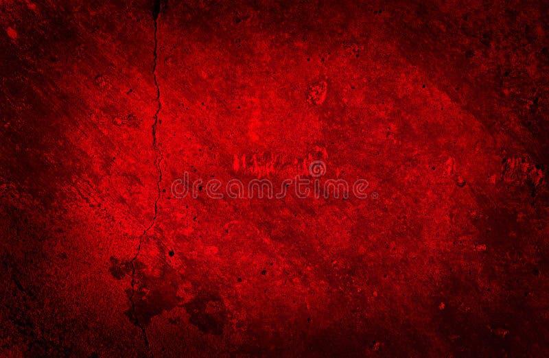 Textura vermelha concreta da parede do Grunge fotos de stock royalty free