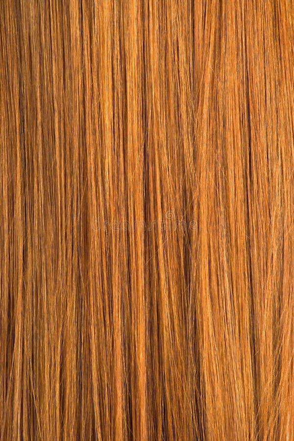 Textura vermelha do cabelo foto de stock royalty free