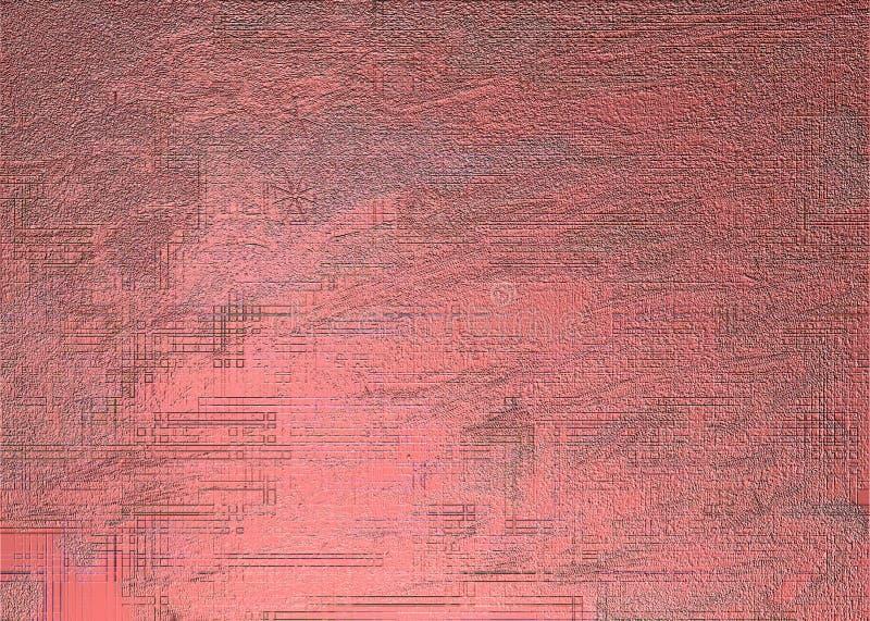 Download Textura vermelha do metal ilustração stock. Ilustração de áspero - 58751