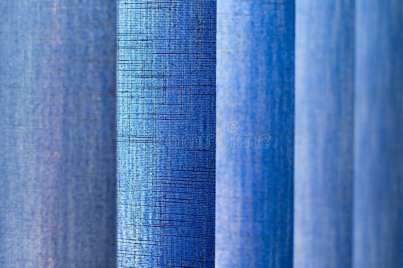 Textura vertical azul do jalousie imagens de stock royalty free