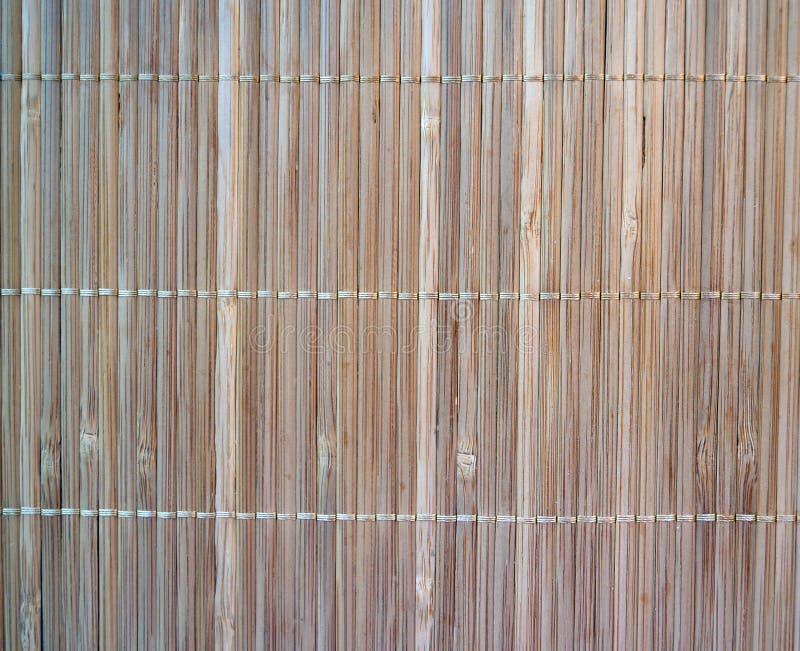 Textura vertical de bambu imagem de stock