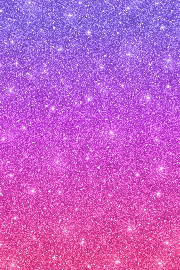 Textura vertical do brilho com efeito cor-de-rosa roxo da cor ilustração stock