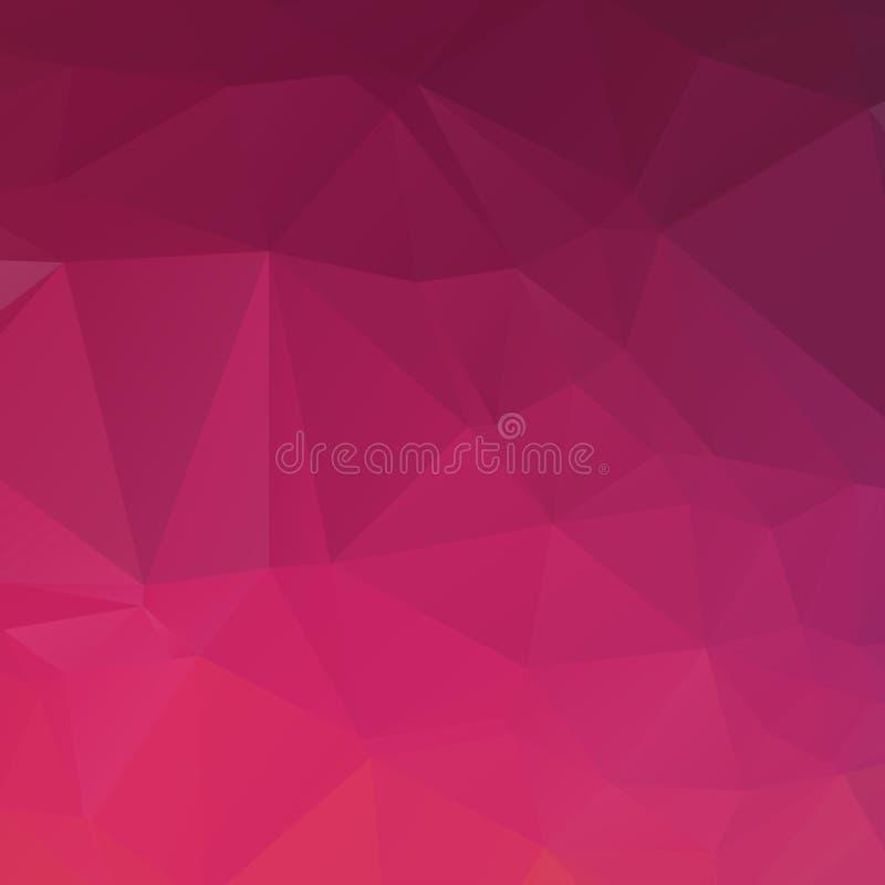 Textura violeta del polígono de Absract ilustración del vector