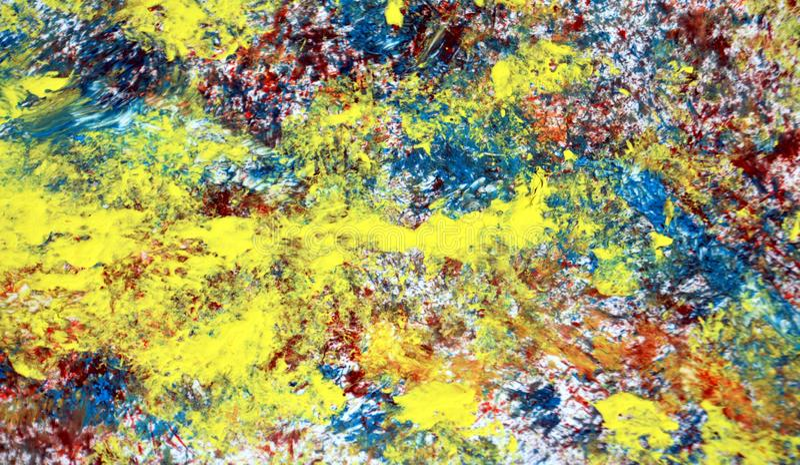 Textura viva de la acuarela de la pintura, fondo, textura abstracta y modelo foto de archivo libre de regalías