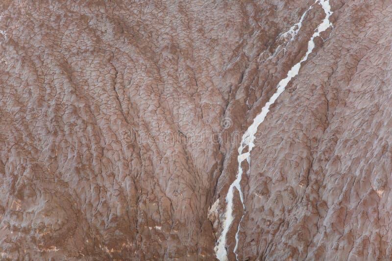 Textura waste da extração da potassa Montes da potassa imagens de stock