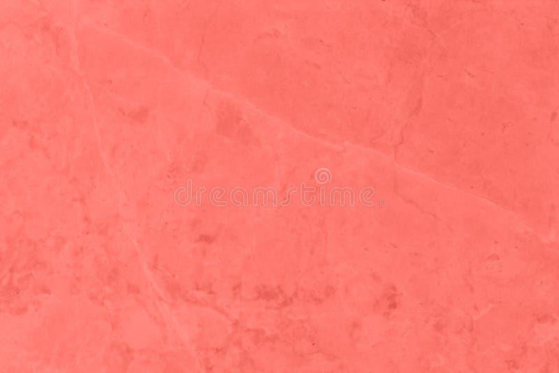 Textura y fondo concretos de la pared Coral Color Background imagenes de archivo